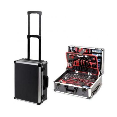 Caisse à outils valise sur roue complète 356 pieces - servante