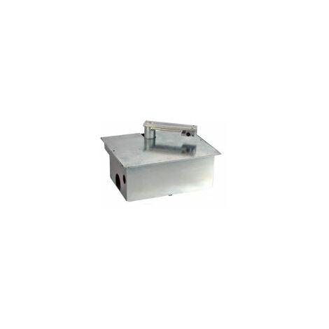 Caisse de fondation en acier + bras pour moteur enterré UNDER VDS - UNDERV.
