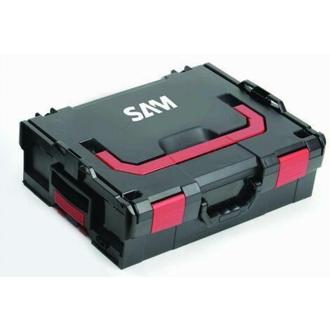 Caisse de rangement plastique transportable 151mm SAM - BOX4X