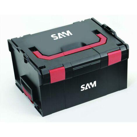 Caisse de rangement plastique transportable 253mm SAM - BOX5X