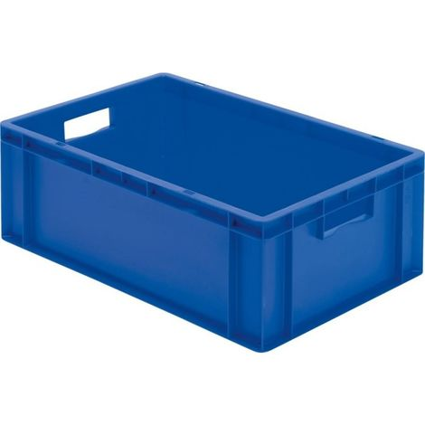 Caisse de transport 600x400x210 mm bleu