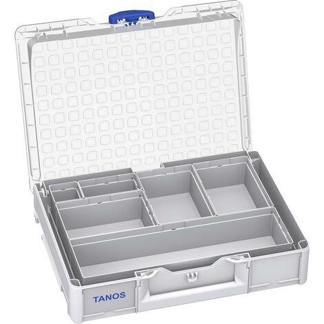 Caisse de transport Tanos Systainer III M89 83500002 plastique ABS (l x h x p) 396 x 89 x 296 mm 1 pc(s)