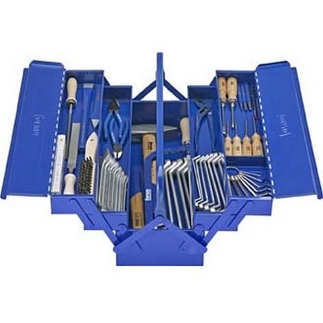Caisse d'outils d'ajusteur, Quantité : 57 pièces