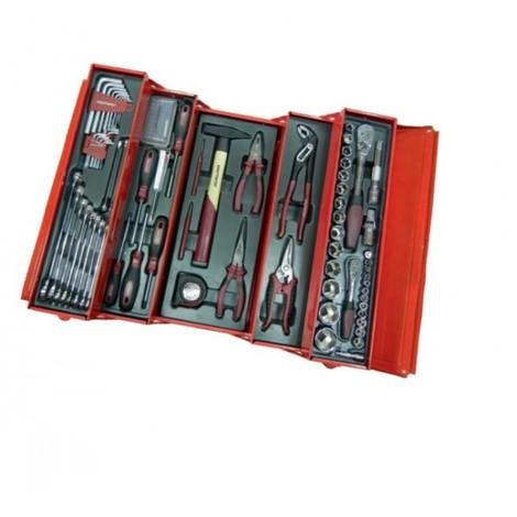 Caisse métallique de 106 outils KRAFTWERK - 3036