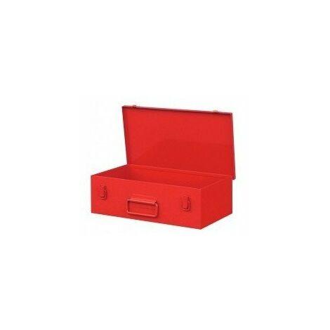 Caisse rangement meuleuse 230mm600x300x140 rouge