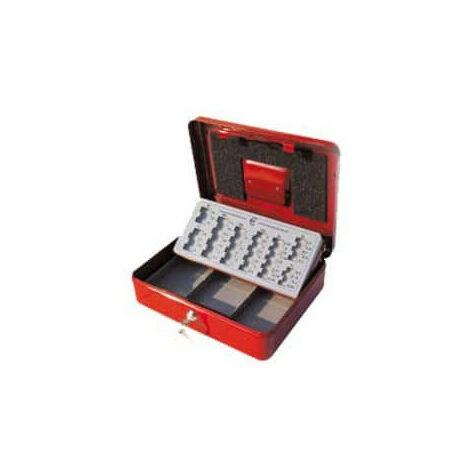 Caissette à monnaie euro rouge Stark PE02 370x100x280mm