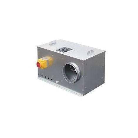 Caisson C4 non régulé, 1200 m3/h, double asp, dépressostat et inter de proximité