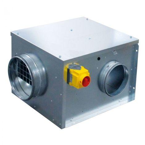 Caisson d'extraction simple flux - CACB-N 005-L/DI - Unelvent 238541