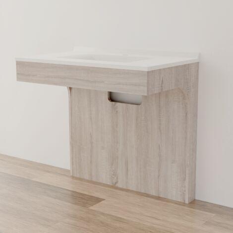 Caisson simple vasque PMR ALTEA 90 - Cambrian oak
