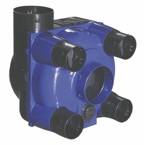 Caisson VMC 4 sanitaires autoréglable - DIFF