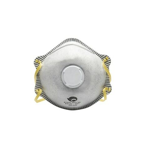 Caja-10 mascarilla con valvula carbon activo
