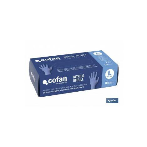 Caja 100 unds guantes de nitrilo t - xl