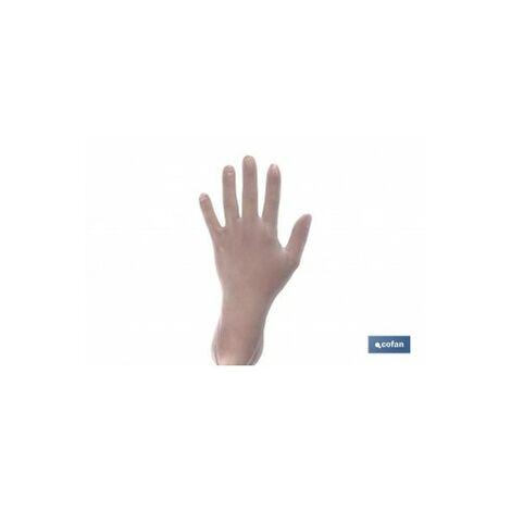 """main image of """"Caja 100 unds guantes vinilo t - m"""""""