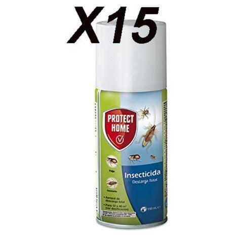Caja 15x Protect Home Insecticida Descarga Total, 150ml
