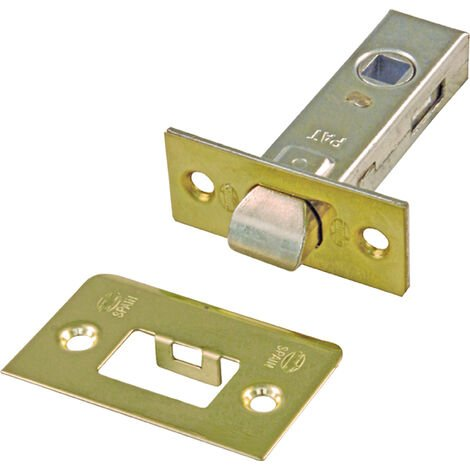 Caja 20 picaporte embutir 6-45 latonado