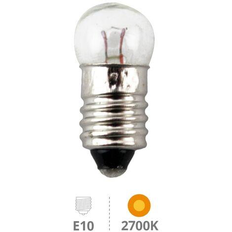 Caja 25u Lamp.miniatura manualidades E10 4,8V