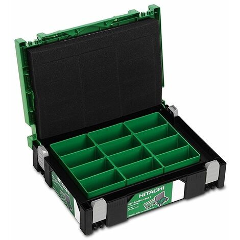Caja apilable con separadores interiores 295x395x101mm HIKOKI 402538