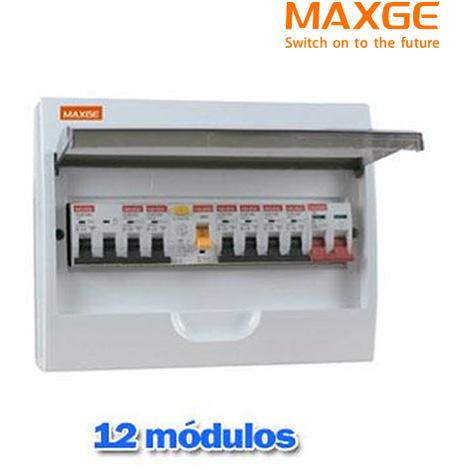 Caja automático superficie 12 Mod IP20 MAXGE