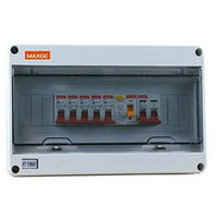 Caja Automático superficie 8 Mod IP65 MAXGE
