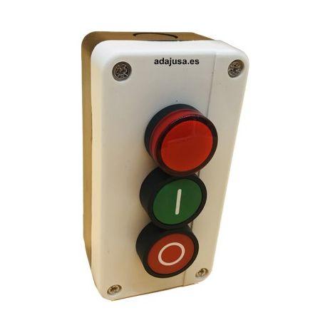 Caja botonera marcha-paro-Piloto completa