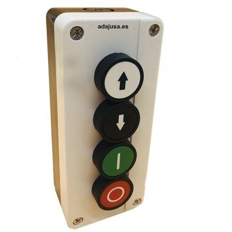 Caja botonera pulsador 4 posiciones