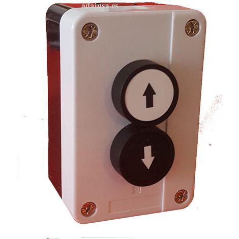 Caja botonera subida-bajada completa