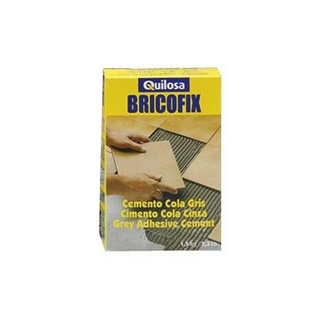 Caja cemento cola gris bricofix 1.5k