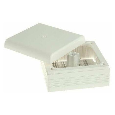 Caja conexion Legrand PVC Blanco 75x75x35mm IP40