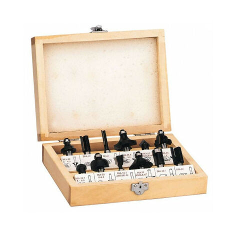 Caja de 12 fresas OF-G 1100 E Einhell