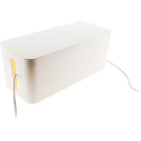 "main image of ""Caja de almacenaje para organizar cables de regletas"""