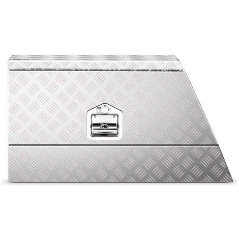 Caja De Aluminio Para Herramientas Transporte Corrugada 75x25x40 cm 75 L