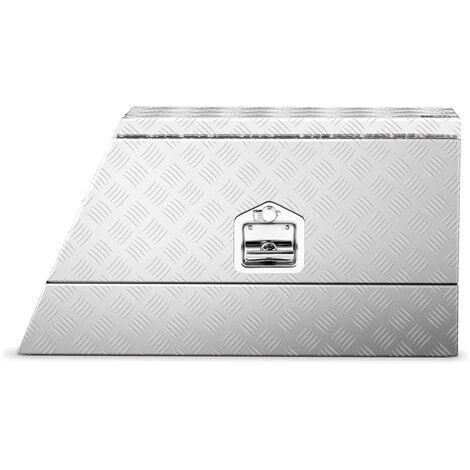 Caja De Aluminio Para Herramientas Transporte Corrugada 75x25x40 cm 75L