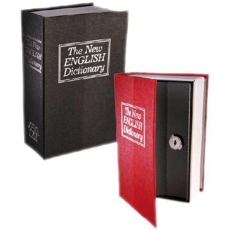 Caja de Caudales Camuflada en Libro Diccionario Gadget and Gifts