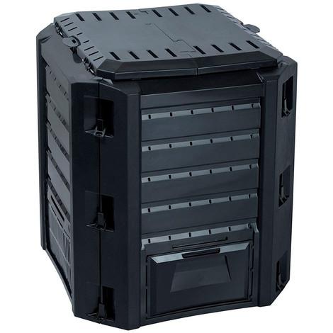 Caja De Compostaje 380L Negra - NEOFERR