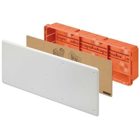 Caja de conexiones Gewiss empotrado montaje 480x160x75 GW48009