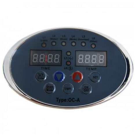 Caja de control de recambio de generador de vapor intenso