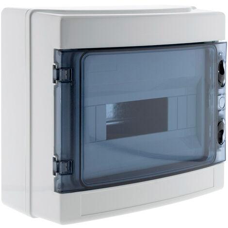 Caja de distribución superficie IP65 8 módulos - Zenitech
