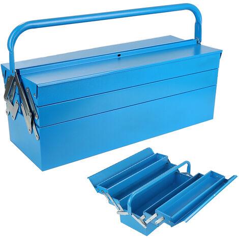 Caja de herramientas 3 Cajones de herramientas maleta Azul