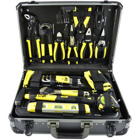 Caja de herramientas aluminio de 198 piezas JBM 53160