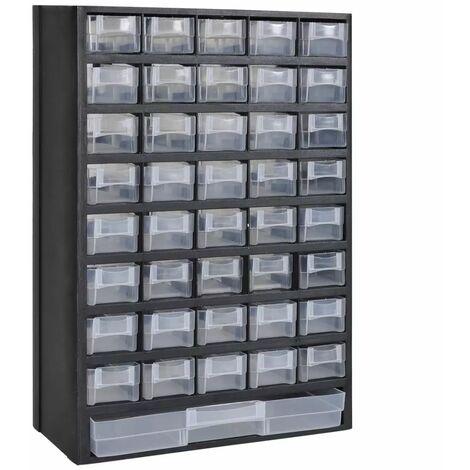 Caja de herramientas armario almacenamiento plastico 41 cajones