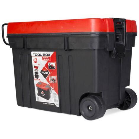 Caja de herramientas de plástico 60L Rubi 71954