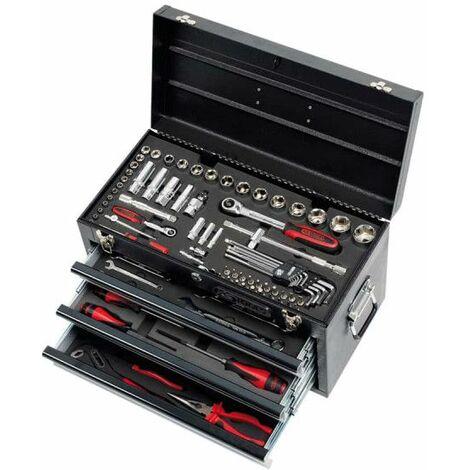 Caja de herramientas equipada con KS TOOLS Ultimate - 114 uds - 922.0100