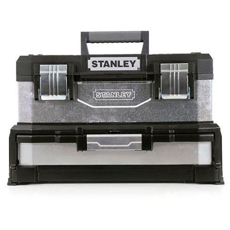 Caja de herramientas stanley con cajón 54,5x28x33,5 cm - talla
