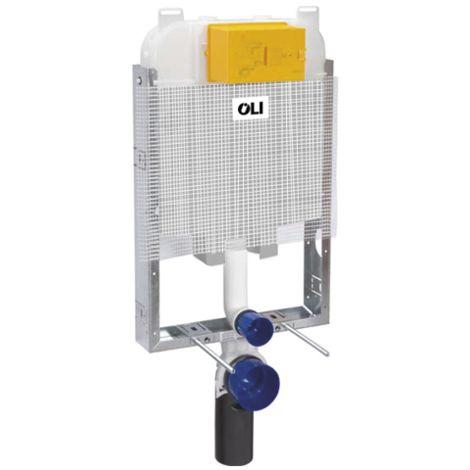 Caja de inodoro con doble desagüe Oli74 Simflex OL0601901 | color