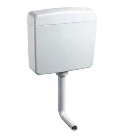 Caja de inodoro con doble desagüe Topazio OL0416201 | Blanco