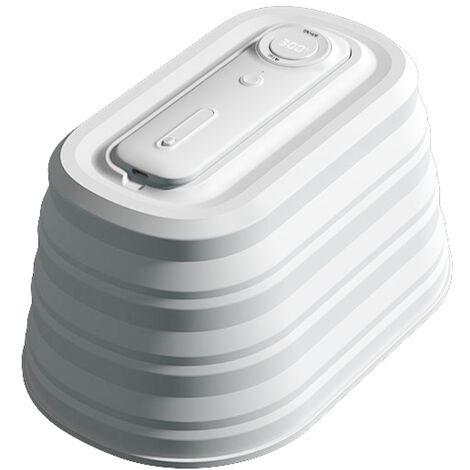 """main image of """"Caja de limpieza portatil Luces de limpieza LED plegables Soporte de pantalla LED Limpieza de mano y de pie para viajes Uso domestico, blanco"""""""