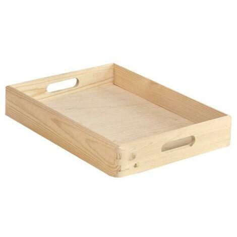 Caja de madera apilable 40x30x07