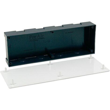 Caja de preinstalación de aire acondicionado sin desagüe Pre-Air - Negro/Blanco