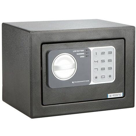 Caja de Seguridad de 3 Pernos con Contraseña Digital Caja Fuerte para el Hogar