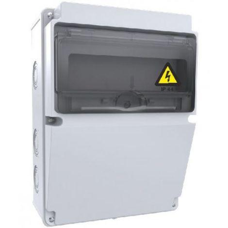 Caja de tomas de corriente 10 módulos 220x300x120mm ABS libre de halógenos IP44